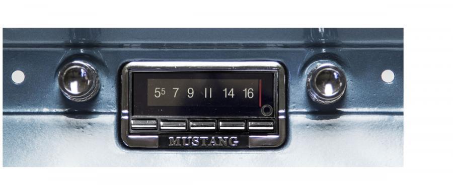 download 1964 Mustang Custom Autosound USA 740 Bluetooth Radio workshop manual