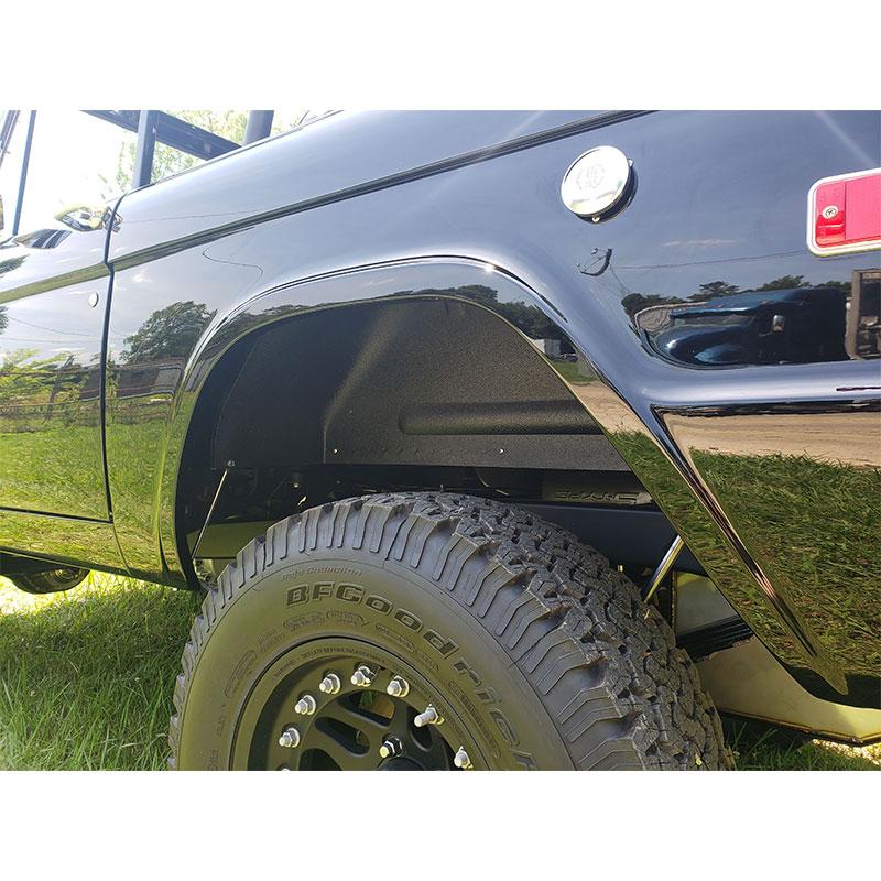 download 67 Ford Bronco Outer Door Skin Left workshop manual