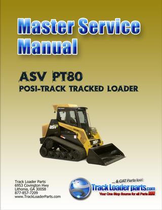 download ASV PT80 RUBBER TRACK Loader able workshop manual