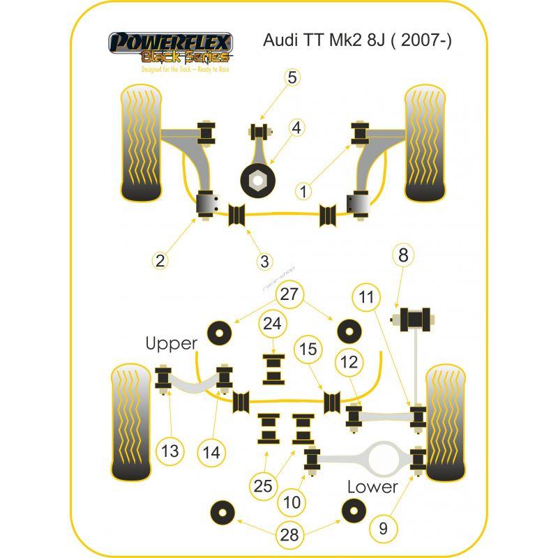 download AUDI TT MK2 TYP 8J workshop manual
