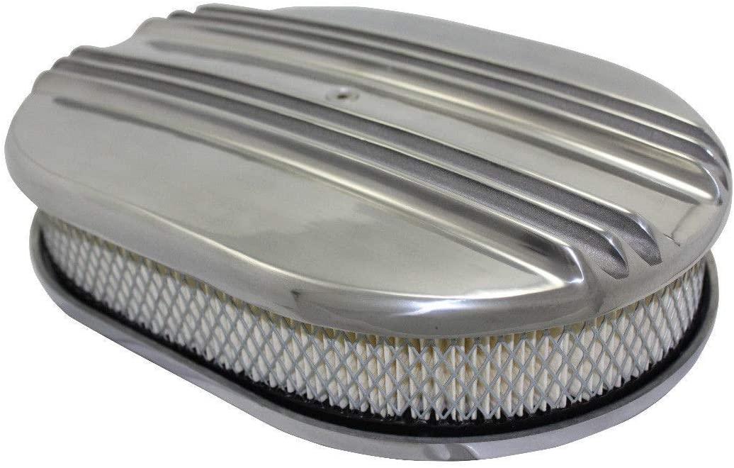 download Air Cleaner Aluminum Finned Polished 4 Barrel Universal workshop manual