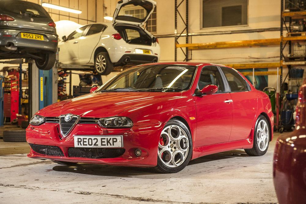 download Alfa Romeo 156 workshop manual