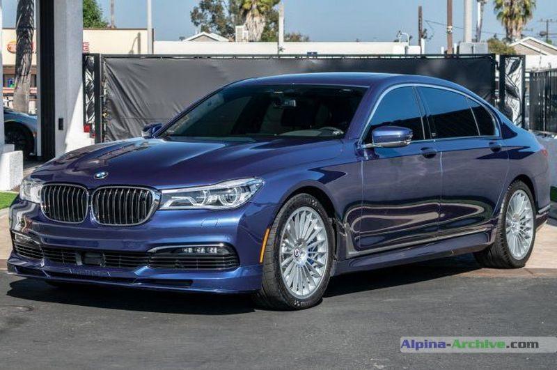 download BMW ALPINA B7LX workshop manual