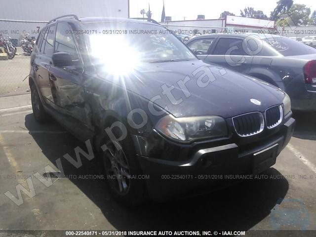 download BMW X3 2 5i workshop manual