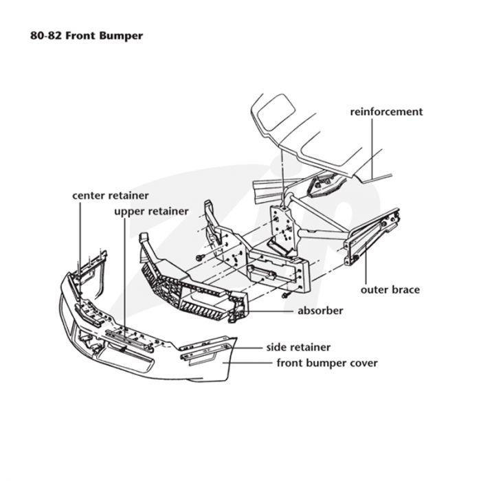 download Bumper Cover Front GM workshop manual