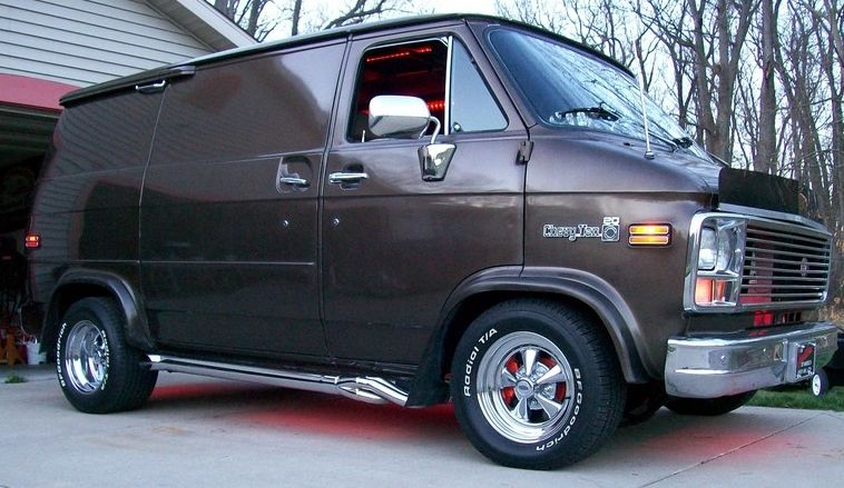 download CHEVY VANModels workshop manual