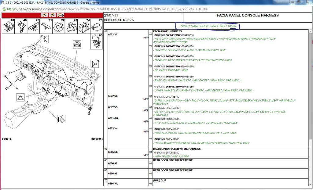 download CITROEN C5 workshop manual