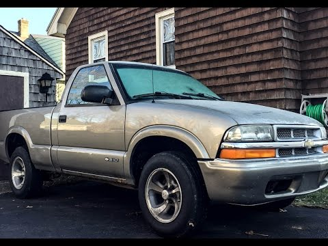 download Chevrolet S10 Pickup workshop manual