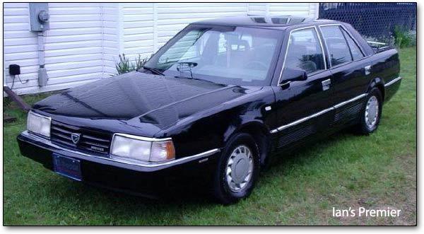 download Chrysler Eagle Premier Dodge Monaco workshop manual