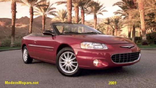download Chrysler JR Sebring workshop manual