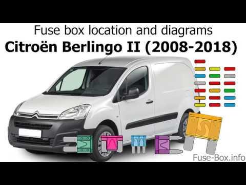 download Citroen Berlingo Srv workshop manual
