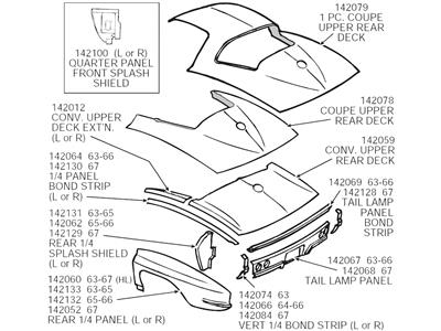 download Corvette Deck Panel Rear workshop manual