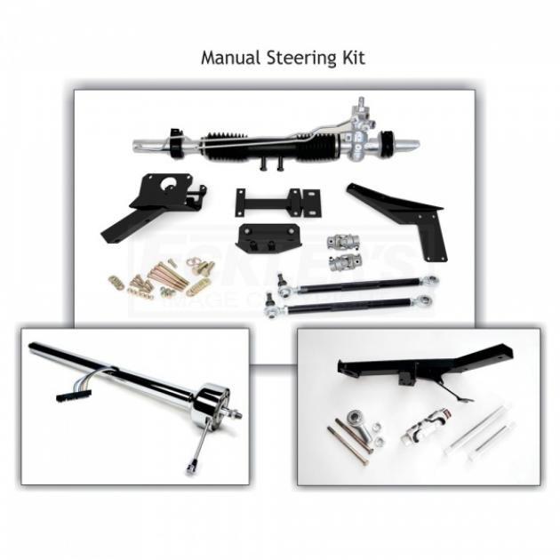 download Corvette Rack Pinion Conversion Kit Steeroids Power Black Column With Headers workshop manual