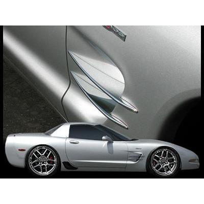 download Corvette Side Fender Screen Spear Set workshop manual