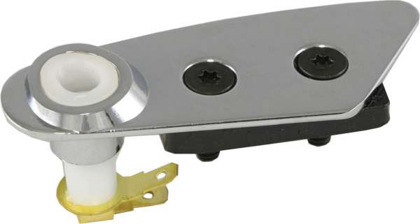 download Corvette T Top Roof Lock Plate With Switch Right Chrome workshop manual