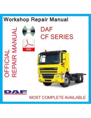 download DAF CF65 CF75 CF85 Truck workshop manual