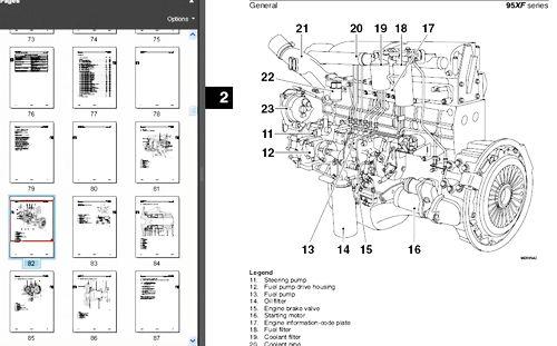 download DAF XF105 DMCI Engine MANAGEMENT System workshop manual
