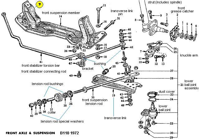 download DATSUN 1200 workshop manual