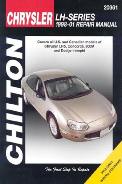 download DODGE CONCORDE INTREPID LH workshop manual