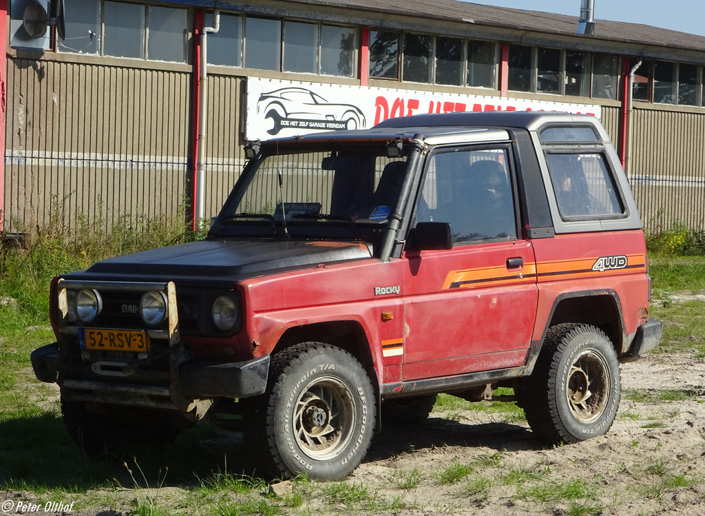 download Daihatsu Fourtrak F70 F75 F77 workshop manual
