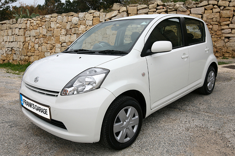 download Daihatsu Sirion workshop manual