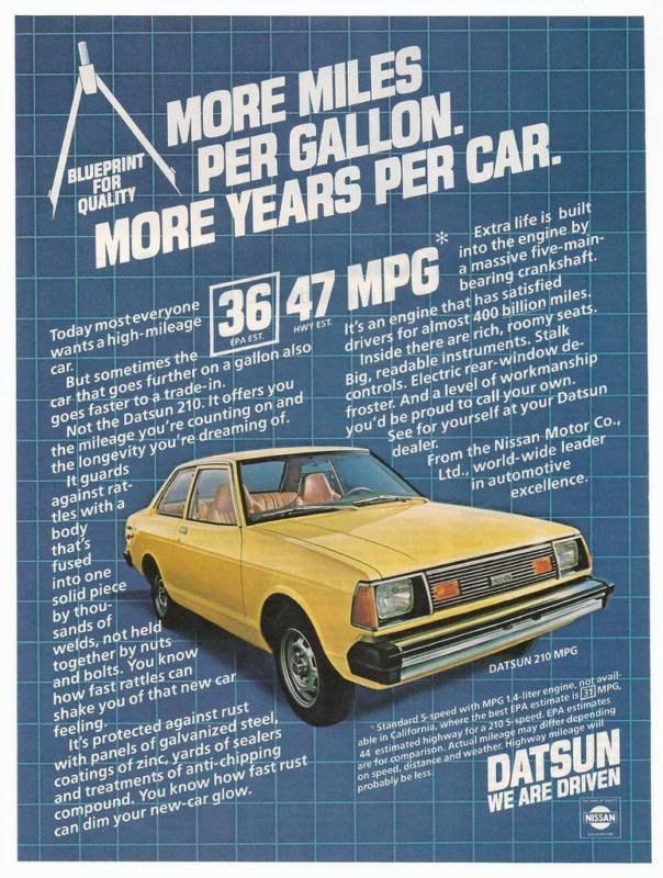 download Datsun 210 B310 workshop manual