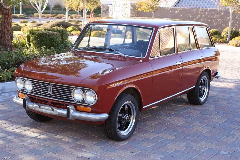 download Datsun 411 1964 workshop manual