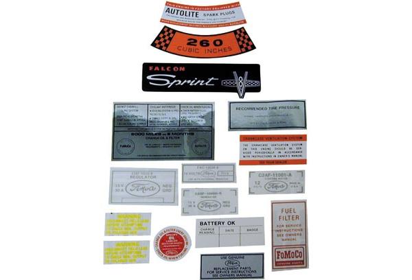download Decal Kit 302 CID Ranchero workshop manual