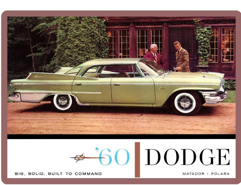 download Dodge Dart Polara Matador workshop manual