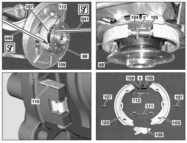 download Emergency Brake Pedal Pad Rubber workshop manual