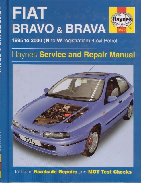 download FIAT BRAVA workshop manual