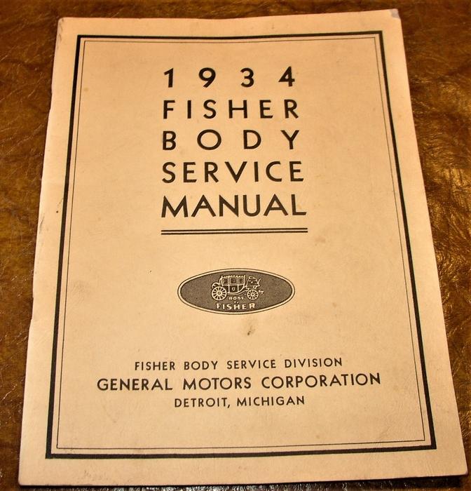 download FISHER Body OLDSMOBILE BUICK CHEVROLET CADILLAC PONTIAC workshop manual