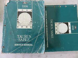 download FORD TAURUS OEM diy workshop manual