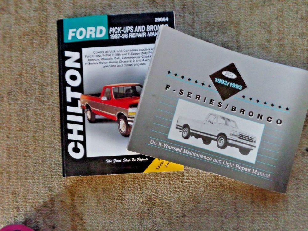 download FORD THUNDERBIRD OEM DIY workshop manual