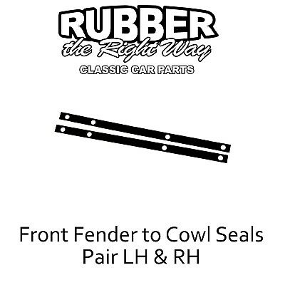 download Fender To Cowl Seals Rubber Ford Mercury workshop manual
