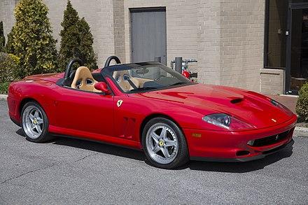 download Ferrari 550 Barchetta Pininfarina USA workshop manual