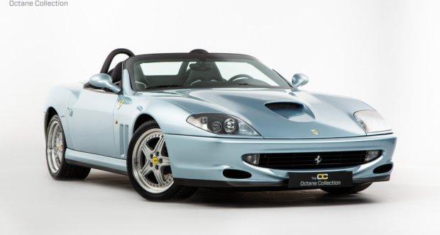 download Ferrari 550 Barchetta US workshop manual