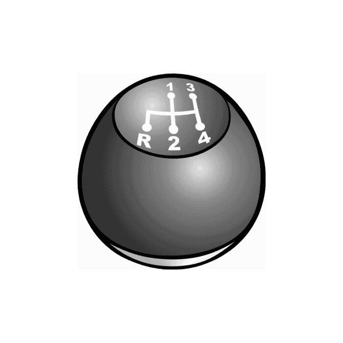 download Floor Shift Knob Transmission Upper Portion Is Black With 4 Speed Pattern In White Lower Chrome Plated Falcon workshop manual