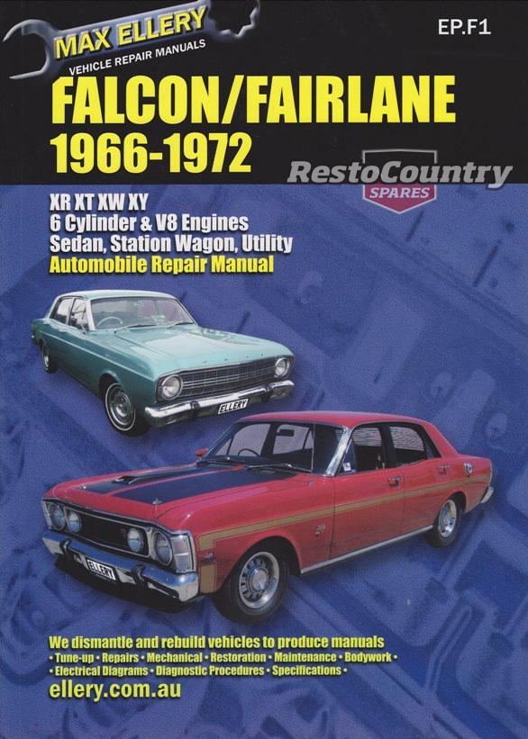 download Ford AU Falcon workshop manual