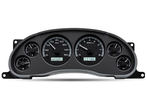 download Ford Bronco VHX Direct Fit Analog Gauge Silver Alloy Face White workshop manual