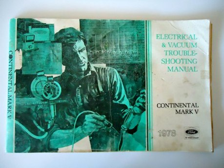 download Ford Continental workshop manual
