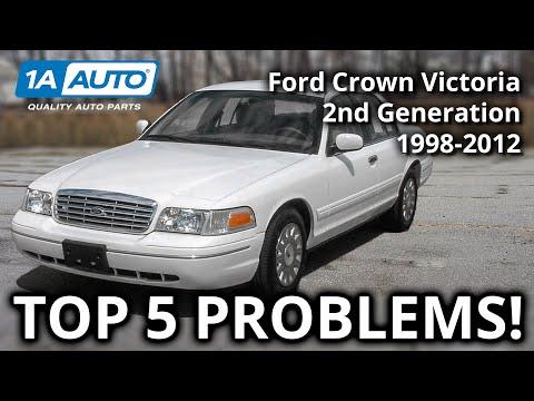 download Ford Crown Victoria workshop manual
