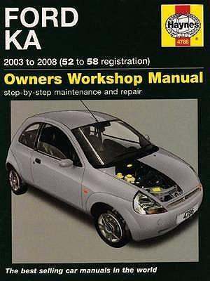 ford ka repair manual haynes