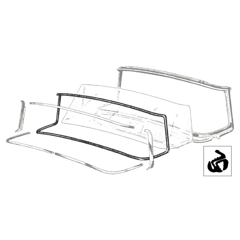 download Ford Mercury Windshield Seal With Groove Stainless Steel Molding workshop manual