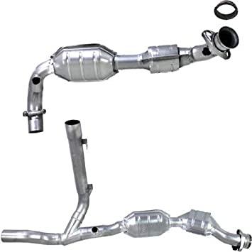 download Ford Pickup Truck Catalytic Converter California Emissions V8 4.6L Front Right workshop manual