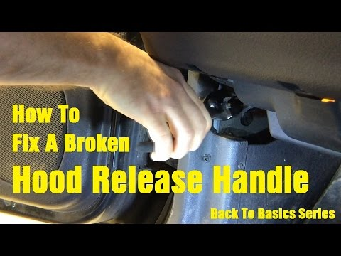 download Ford Pickup Truck Hood Release Cable Assembly workshop manual