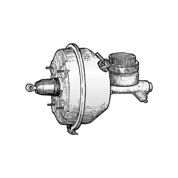 download Ford Thunderbird Power Brake Booster Re workshop manual