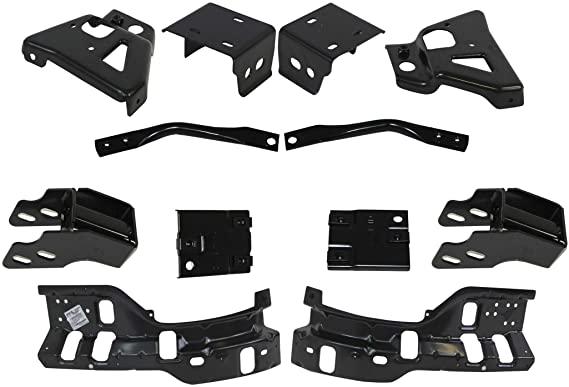 download Front Inner Bumper To Frame Extension Bracket Left workshop manual