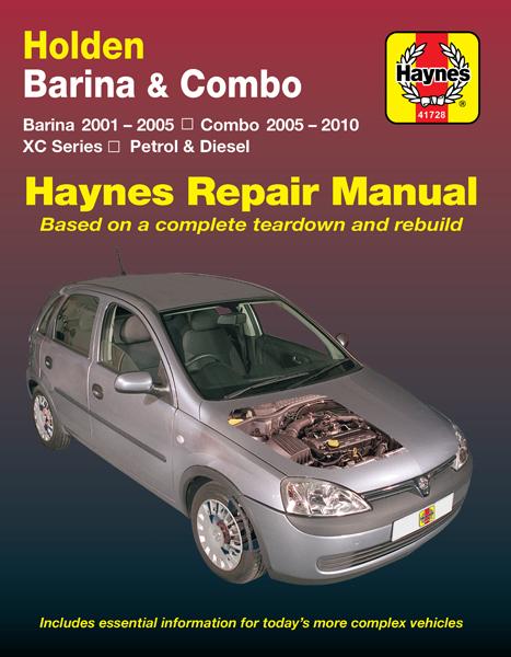 download HOLDEN BARINA workshop manual