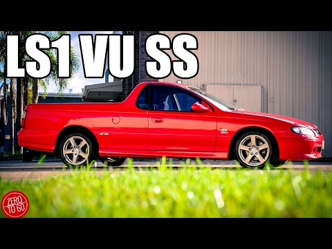 download HOLDEN COMMODORE UTILITY VU workshop manual